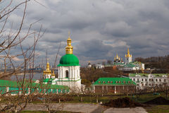 Kiew-Pechersk Lavra Panorama Stockfoto