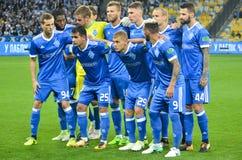 KIEW, UKRAINE - 24. August 2017: Allgemeiner Teamfoto FC Dynamo K stockbilder