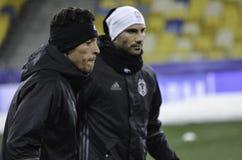 KIEW, UKRAINE - 6. DEZEMBER: Adriano Correia Claro während der UEFA Ch Lizenzfreies Stockbild