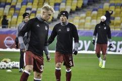 KIEW, UKRAINE - 6. DEZEMBER: Adriano Correia Claro während der UEFA Ch Stockbilder