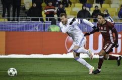 KIEW, UKRAINE - 6. DEZEMBER: Adriano Correia Claro während der UEFA Ch Stockfotos