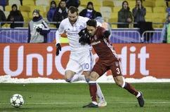 KIEW, UKRAINE - 6. DEZEMBER: Adriano Correia Claro während der UEFA Ch Lizenzfreie Stockbilder