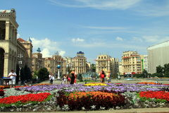 Kiew, Ukraine, am 28. Juni 2016 Stockbild
