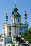 Kiew, Ukraine - Kirche Str.-Andrew Lizenzfreie Stockbilder