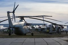 Kiew, Ukraine, am 7. März 2019 - nationales Luftfahrt-Museum redaktionell lizenzfreies stockfoto