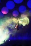 KIEW, UKRAINE - 5. MAI: Empfindung Innerspace-Show (ID&T) am NEC am 5. Mai 2012 in Kiew, Ukraine Lizenzfreies Stockbild