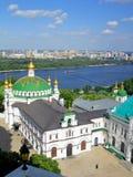 KIEW - UKRAINE - MAI 2016 Kiew-Pechersk Lavra, orthodoxe Kirche Stockbilder