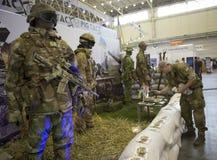 Kiew, Ukraine am 24. September 2015: Ausrüstung XII internationaler Special Lizenzfreies Stockfoto