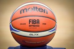 KIEW, UKRAINE - 14. September 2018: Beamter FIBA Special Editio lizenzfreie stockfotos