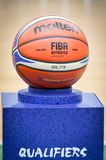 KIEW, UKRAINE - 14. September 2018: Beamter FIBA Special Editio lizenzfreies stockbild