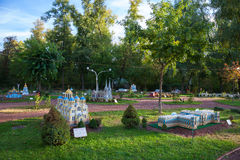 KIEW, UKRAINE - 22. September 2016: Park von Miniaturen Lizenzfreie Stockfotos