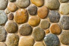 Kiezelsteenmuur - 3 Royalty-vrije Stock Fotografie