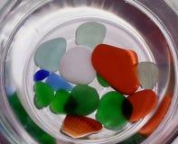 Kiezelstenen & Shells Stock Foto