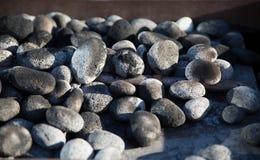 Kiezelstenen en stenen Stock Afbeelding