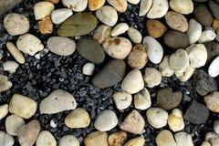 Kiezelstenen en stenen Stock Afbeeldingen