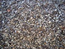 Kiezelstenen op het Strand stock afbeelding