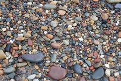 Kiezelstenen op Stoney Beach Stock Afbeeldingen