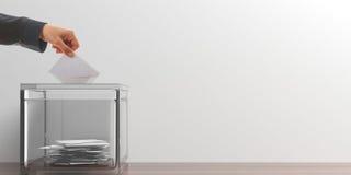 Kiezer op witte achtergrond 3D Illustratie vector illustratie