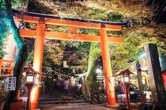 Kifune寺庙 免版税库存照片
