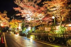 Kifune寺庙 图库摄影