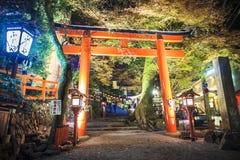 Kifune Shrine Lizenzfreie Stockbilder