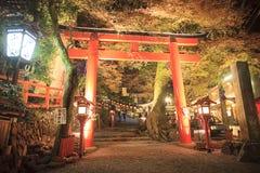 Kifune Shrine Royalty Free Stock Photos