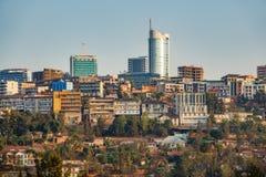 Kigali śródmieście zdjęcie stock