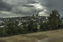 kigali rwanda Royaltyfri Bild
