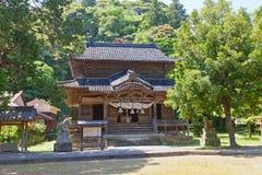 Kigami-Schrein von Iwami Ginzan, Omori, Japan Lange Belichtung Lizenzfreies Stockbild