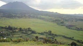 Kigezi volcanic mountains royalty free stock photo