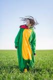 Kigurumi дракона девушки с dreadlocks Стоковая Фотография RF