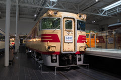 KiHa 181 series Train in Japan Stock Images