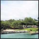 Kihei landskap Arkivfoto