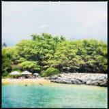 Kihei in Maui Hawaii. Beach at Kihei on Maui, Hawaii Royalty Free Stock Photo