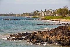 Kihei. View of the beach in Kihei, Maui Royalty Free Stock Images