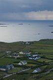 Kiillarney国家公园海岸凯利路,爱尔兰圆环的  免版税库存图片