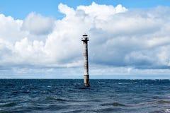 Kiipsaare fyr Saaremaa Estland Arkivfoto