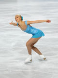 Kiira KORPI (FIN) short program Royalty Free Stock Images
