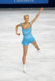 Kiira KORPI (FIN) short program Royalty Free Stock Image