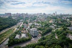 Kijów kapitał Ukraina Obrazy Royalty Free