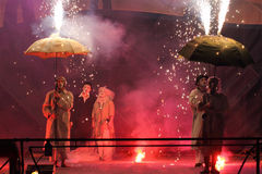 Kijów ogienia fest 2013 Fotografia Stock