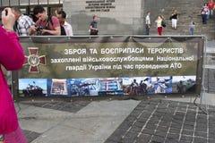 KIJÓW, UKRAINA, bronie obraz royalty free