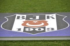 KIJÓW, UKRAINA - DEC 06: Logo Besiktas i emblemat (Istan Zdjęcie Stock