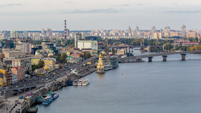 Kijów, Ukraina, Dnipro Obraz Stock