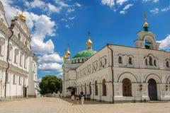 Kijów, Ukraina 02 2017 jule Kijów Pechersk Lavra jest pospolitym imieniem dla całkowitego kompleksu katedry, dzwonkowego góruje,  obrazy royalty free
