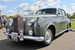 Kijów, Ukraina; Kwiecień 10, 2018 Rolls Royce samochód retro zdjęcia stock