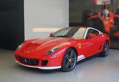 Kijów, Ukraina, Lipiec 13, 2015 Ferrari 599 Alonso wydanie 60F1 zdjęcie royalty free
