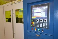 Kijów Ukraina, Listopad, - 23, 2017: - Przemysłowa maszyneria, produkci agregacja Zdjęcia Stock