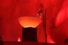 KIJÓW UKRAINA, MAJ, - 5: Furory Innerspace przedstawienie przy NEC na Maju 5, 2012 w Kijów, Ukraina (ID&T) Fotografia Royalty Free