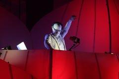 KIJÓW UKRAINA, MAJ, - 5: Furory Innerspace przedstawienie przy NEC na Maju 5, 2012 w Kijów, Ukraina (ID&T) Obrazy Royalty Free